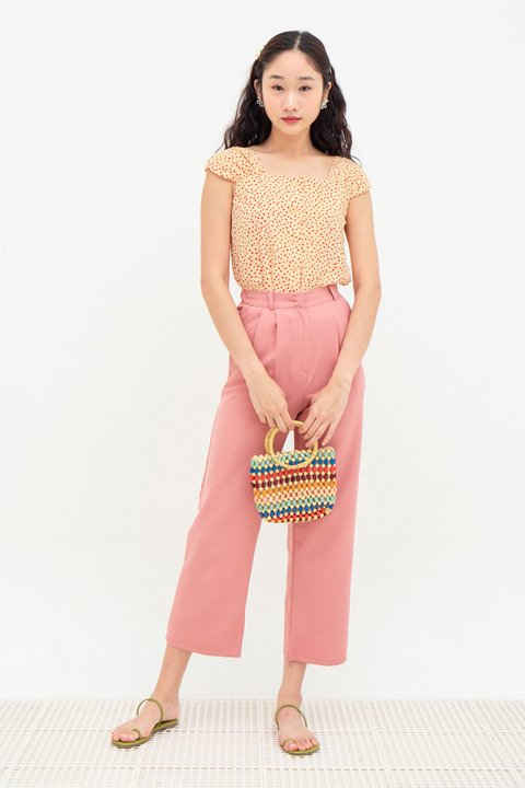 *BO* FRANCINE PANTS - FRENCH PINK