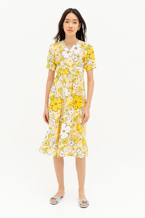 ESMERALDA DRESS - PANSY
