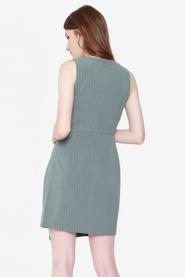 Sallie Work Dress (Sage Green)