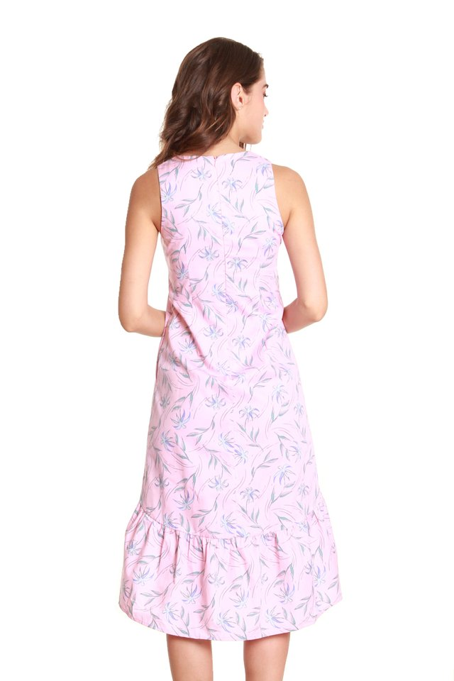 Ammie Sleeveless Field Flower Dress